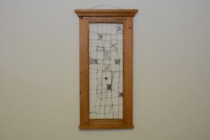 Drôtený obraz - objekt II