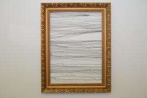 Drôtený obraz - objekt