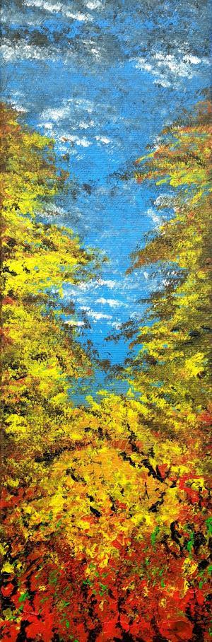Modrá jesenná obloha 1