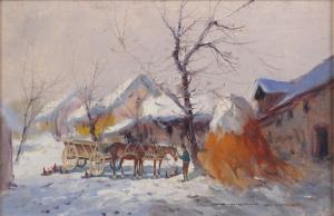 V zime