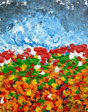Abstraktné kvety