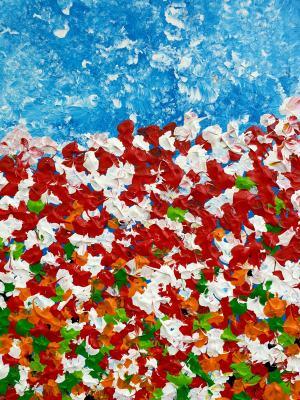 Abstraktné kvety 2