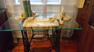 Mramorový písací set