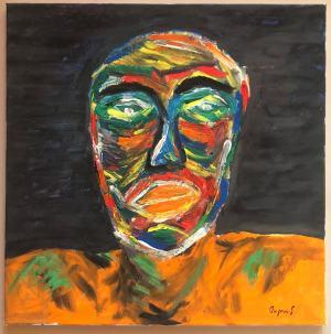 Hlava I. ( autoportrét )