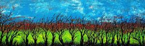 Zimné čierne stromy 1