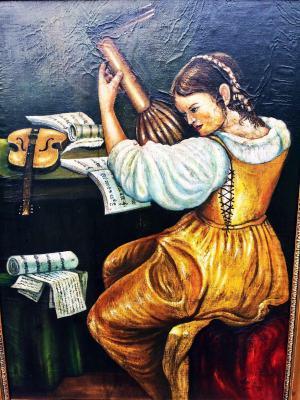 Dievča s gitarou