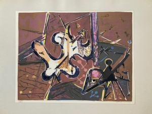 Endre Nemes - Abstraktný motív