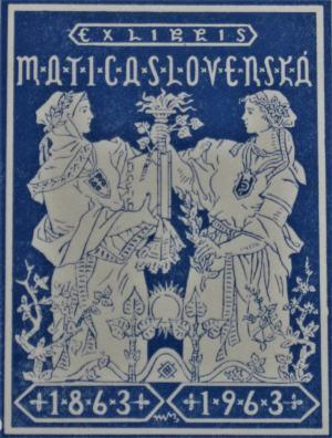 Ex libris Matica slovenská