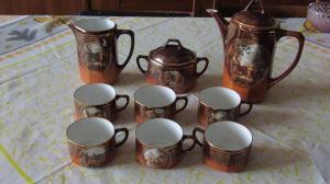 Porcelánová čajová súprava