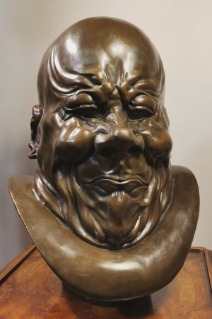 F.X. Messerschmidt - charakterová hlava zavalitého darebáka