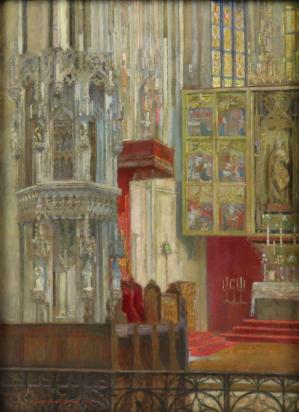 Oltár v Dóme sv. Alžbety