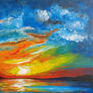 Zapadajúce slnko 1