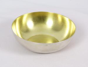 Strieborná miska Faberge