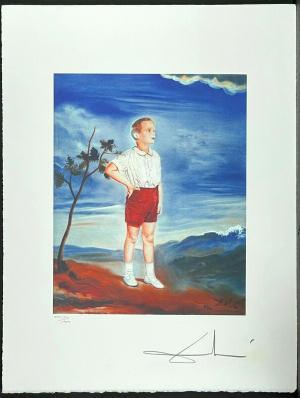 SALVADOR DALI / Portrait of a Child