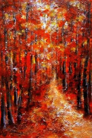 V červenom lese 1