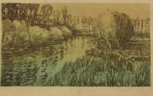 Krajina s riekou