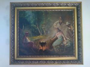 Cigáni pri ohni