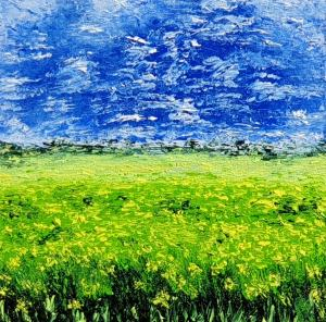 Zeleno žlté pole