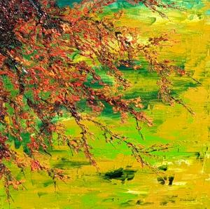 Kvitnúci abstrakt